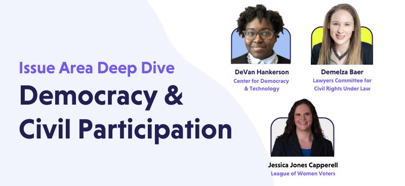 Democracy and Civil Participation Deep Dive